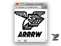 QR Code Arrow Arrrw.Com Logo