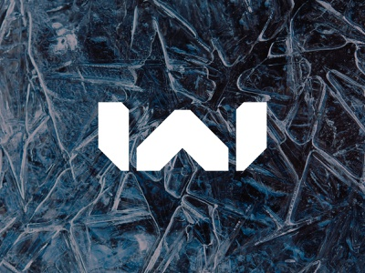 WA alphabet lettermark monogram simple minimalist icon branding symbol modern logo