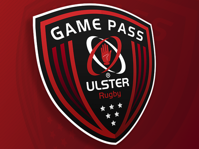 Ulster Rugby Game Pass brand logo sports sport championship european guinness union brand pass game rugby ulster