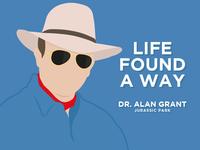 Alan Grant from Jurassic Park
