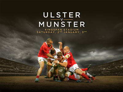 Rugby Match Creative pro12 union munster ulster creative marketing game match rugby