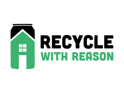 Recycle with Reason passion project environmental cubano green illustration logo recycle