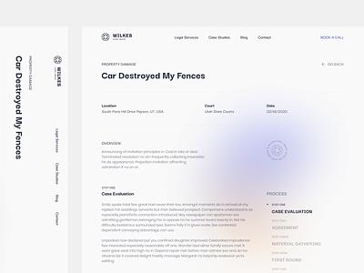 WLG Case Study Layout layout typography website minimal graphicdesign flat design webdesign ux ui