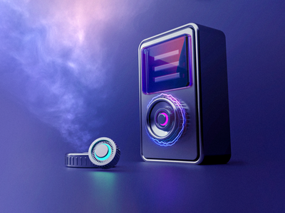 3D Explorations - Charging machine cinema4d 3d ilustration 3d art 3d