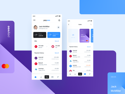 paywee productdesign mobileapp mobile uidesign appui payment app ux ui