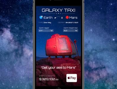 "UI Challenge: ""Galaxy Taxi"""