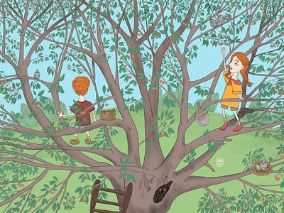 Picture book illustration comic funny illustration fairytale cute art picture book book illustration childrens illustration childrens book whimsical illustration photoshop procreate digital art illustrated