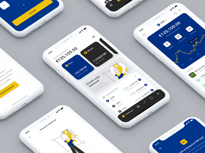 Financial app dashboard illustration crypto currency app ux ui payment crypto wallet crypto wallet exchange financial app