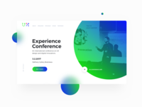 UX Conference Landing Page