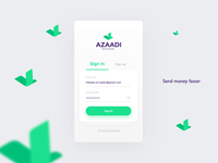 Azaadi - Send & Receive Money Faster