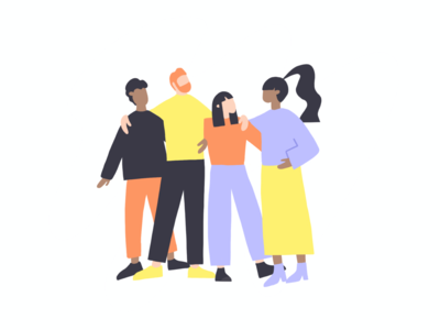 Family family illustration