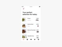Explore Feed for Dinner App