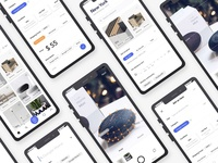 Sell and buy stuff nearby concept
