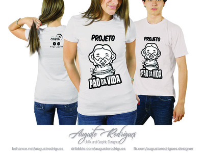 Project Pão da vida T-shirt