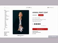 Zara redesign