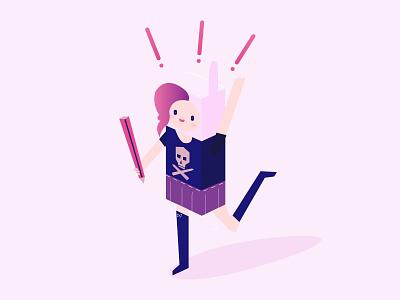Pi Avatar bunny happy skull kawaii girl pixel pink avatar designer