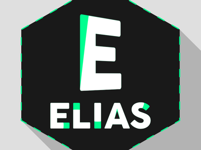 mah new logo typography after effects ae