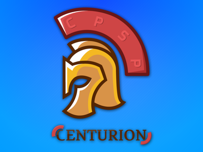 CPSP Logo - CENTURION flat design after effects flat typography typo