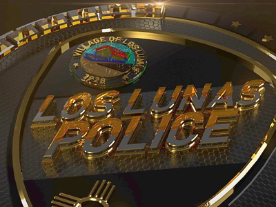 Rendered Badge of Los Lunas Police Department