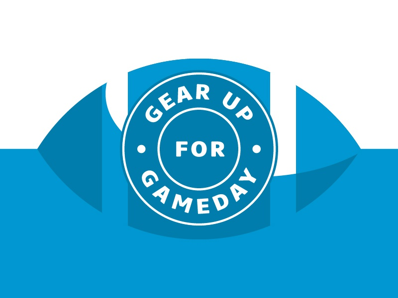 Gear Up For Gameday grand valley blue sports sport football