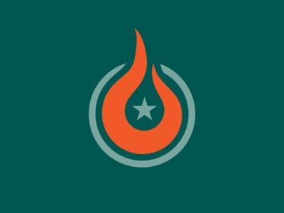 Flame & Star Symbol