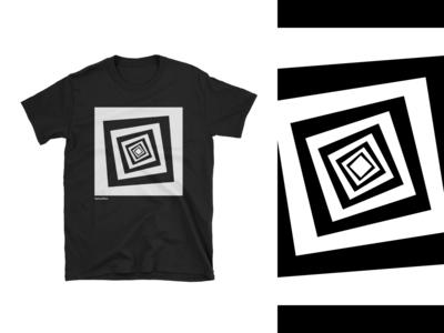 Optical Tees - Rotating Squares