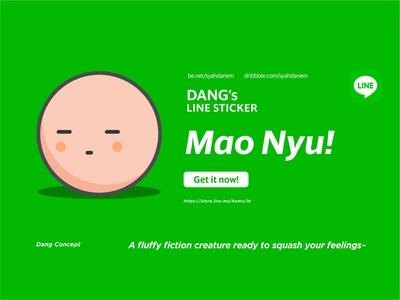 Mao Nyu - LINE Sticker #1
