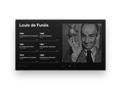 Louis de Funes concept page