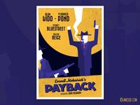 PAYBACK - Film Noir Poster