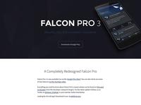 Falcon Pro 3 Website [WIP]