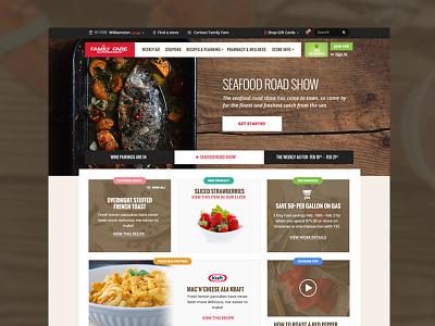 Delicious desktop. ui homepage