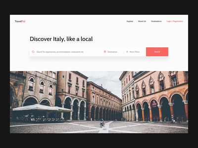 Become Local with Travel Website