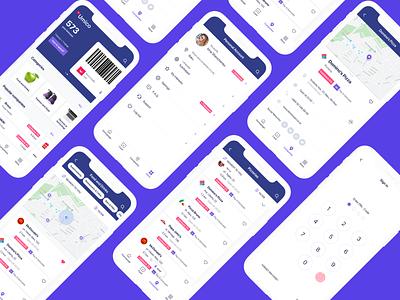 Umico — smart shopping assistant native design bonus card e-commerce app marketplace smart shopping product design colorful clean ui mobile app design application ui design interface android mobile app ios app