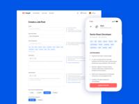Freelancer Search Service Design Concept