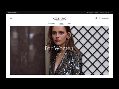 Fashion eCommerce website trending fashion ecommerce ux design clean ui ui design interface concept homepage desktop design ux ui landing micro-interaction animation