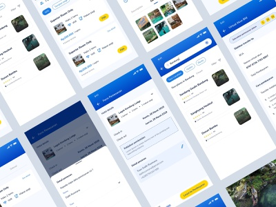 Wisata App Details | Exploration interface simple ux design ux userinterface userexperiance uidesign ui  ux design form mobileweb homepage design blue apps android