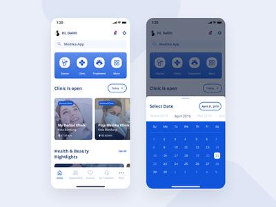 Medika App Redesign | UI Exploration Design wireframe designinspiration mobile design android design apps userinterface uidesign appdesign