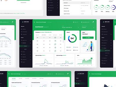 Dashboard Motan Network uxdesign userexperience apps mobileweb web ux uidesign userinterface webdesign dashboard ui dashboard