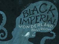 Black Imperial Gig Poster