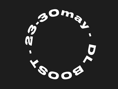 DL BOOST orange black ux ui webdeisgn video dlboost animation figmotion figma design