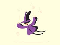 Ведьмочка по урокам онлайн-школы Pixel