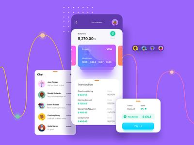 Payment and Transaction screens  Mobile UI uiux app uidesign branding typography ui design ux figma design ui