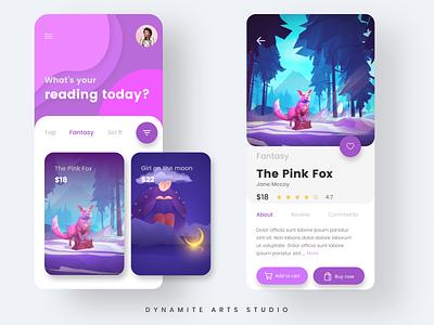 Story App ux ui design