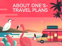 Tourism illustrations