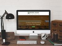CS Woodwork Wordpress Website, Branding, Logo
