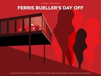 Ferris Bueller Movie Poster Art
