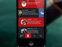 Conceptual inflight service app for Emirates