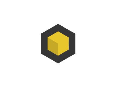 Cube logo cube box logo minimal