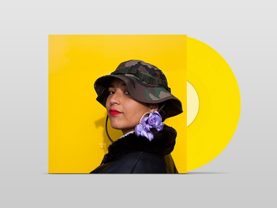 Fatima - Yellow Memories record cover art vinyl cover album art yellowmemories fatima eglo records vinyl yellow lp