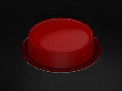 Arcade Button red arcade button photoshop